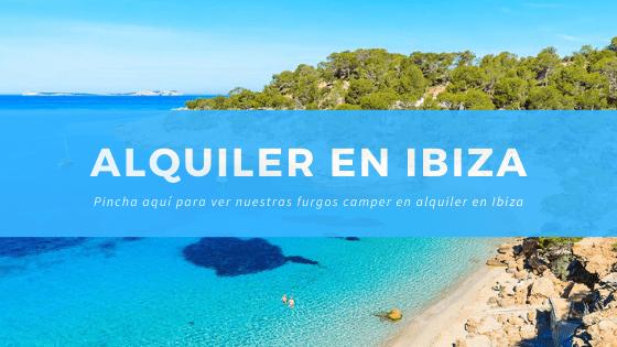Alquiler furgonetas camper en Ibiza - ibizaencamper