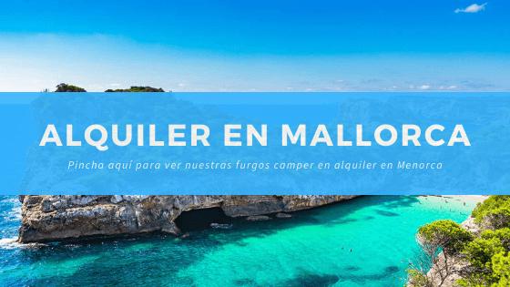 Alquiler furgonetas camper en Mallorca - mallorcaencamper