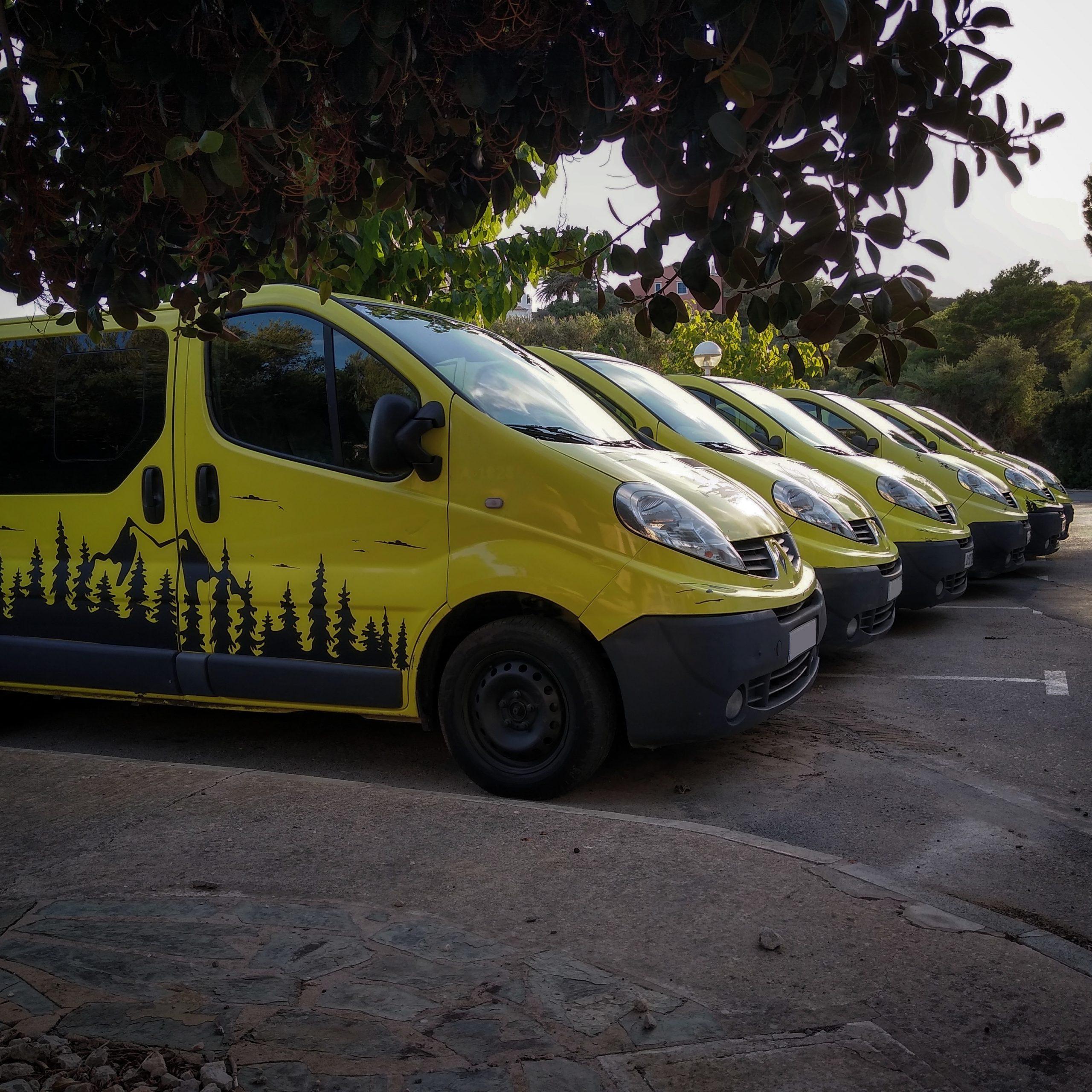 Menorca en camper, alquiler de furgonetas camper en Menorca